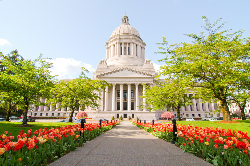 Visiting the State Capitol building is one of the best things to do in Washington State