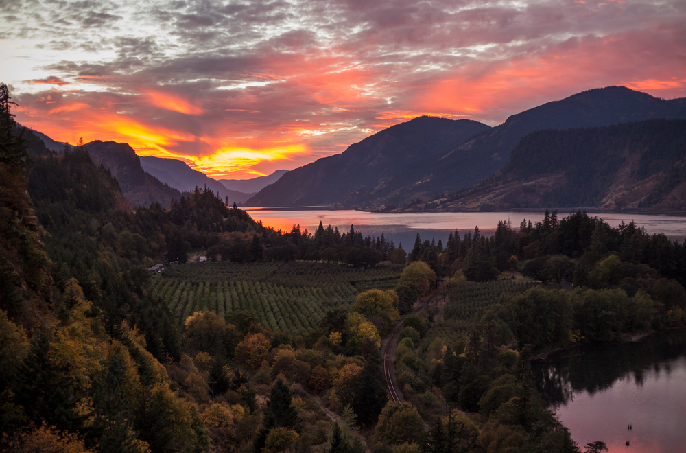 Visiting the Columbia Gorge is one of the best things to do in Washington State!