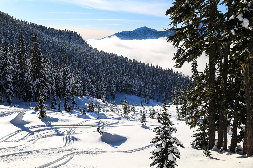 Skiing in Snoqualmie is one of the region's best skiing destinations, and one of the best things to do in Washington State to visit!