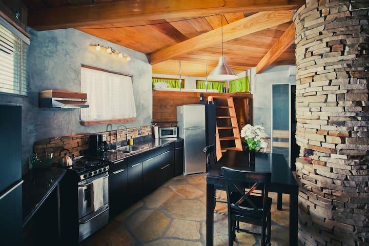 the Cave Creek Kiva Airbnb in Arizona