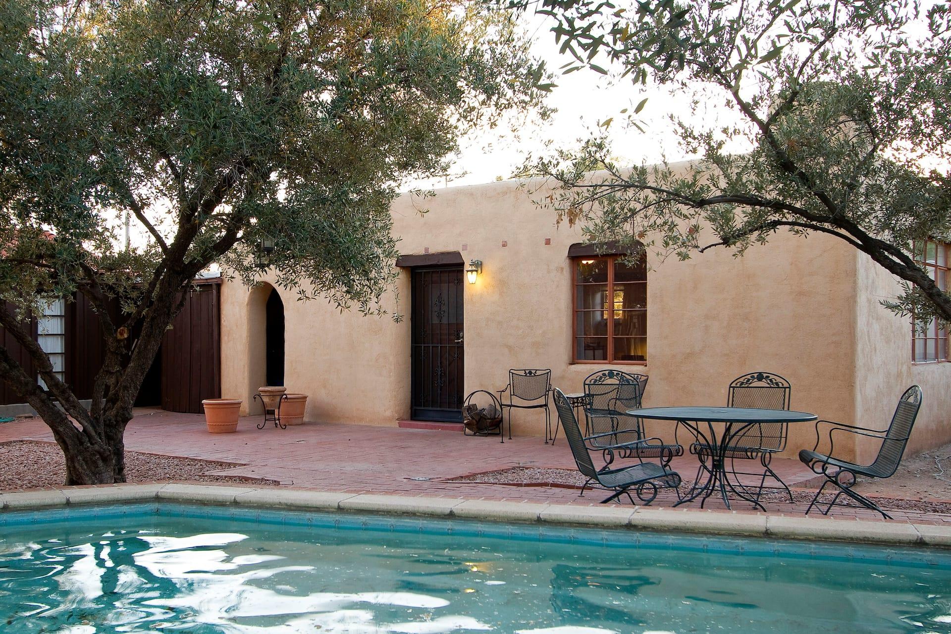 the Tucson Poet's Studio Airbnb in Arizona