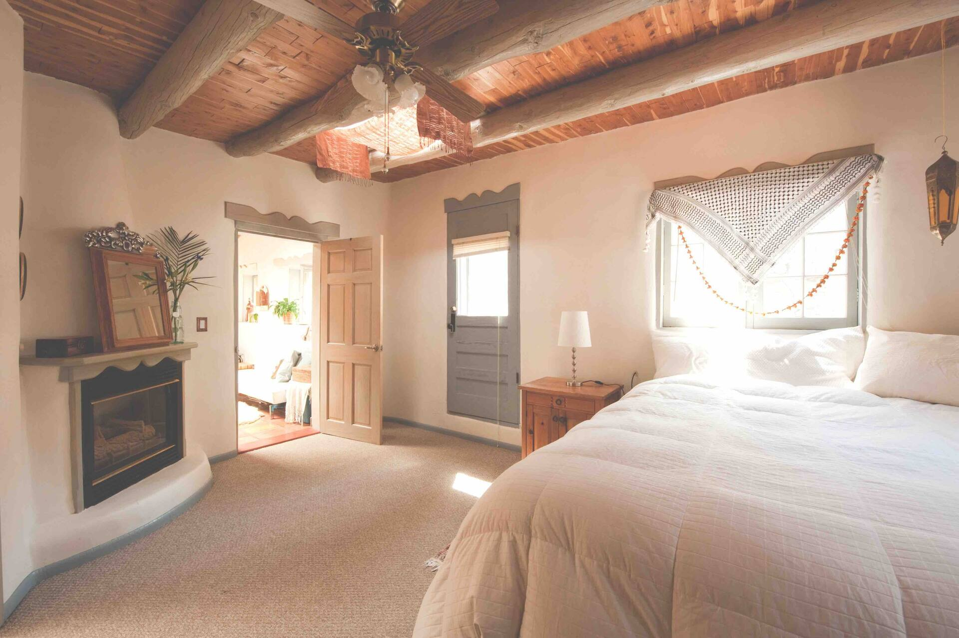 the Besos Adobe Airbnb in New Mexico