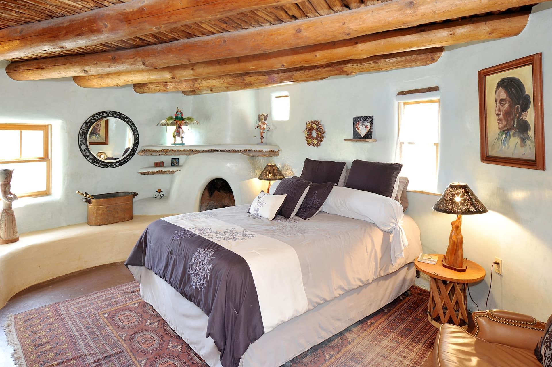 the Casita de la Luz Airbnb in New Mexico