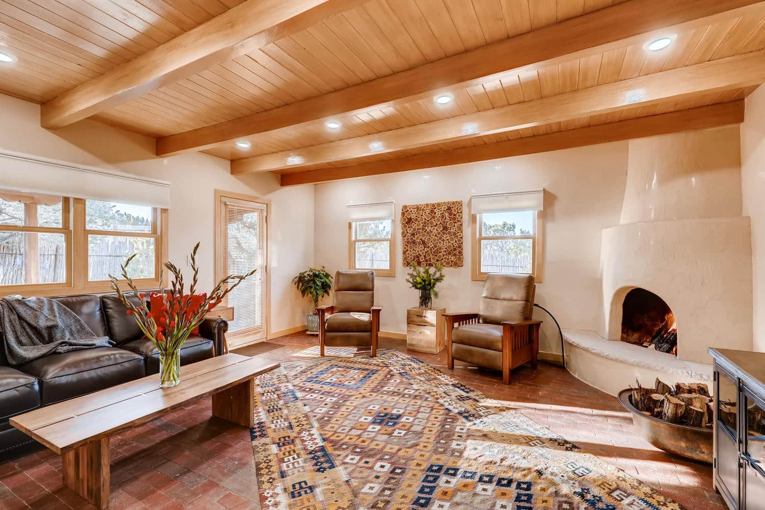 a gorgeous casita with private hot tub Airbnb in New Mexico