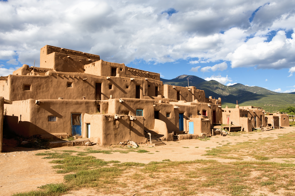 the Taos Pueblo near your Airbnb in New Mexico