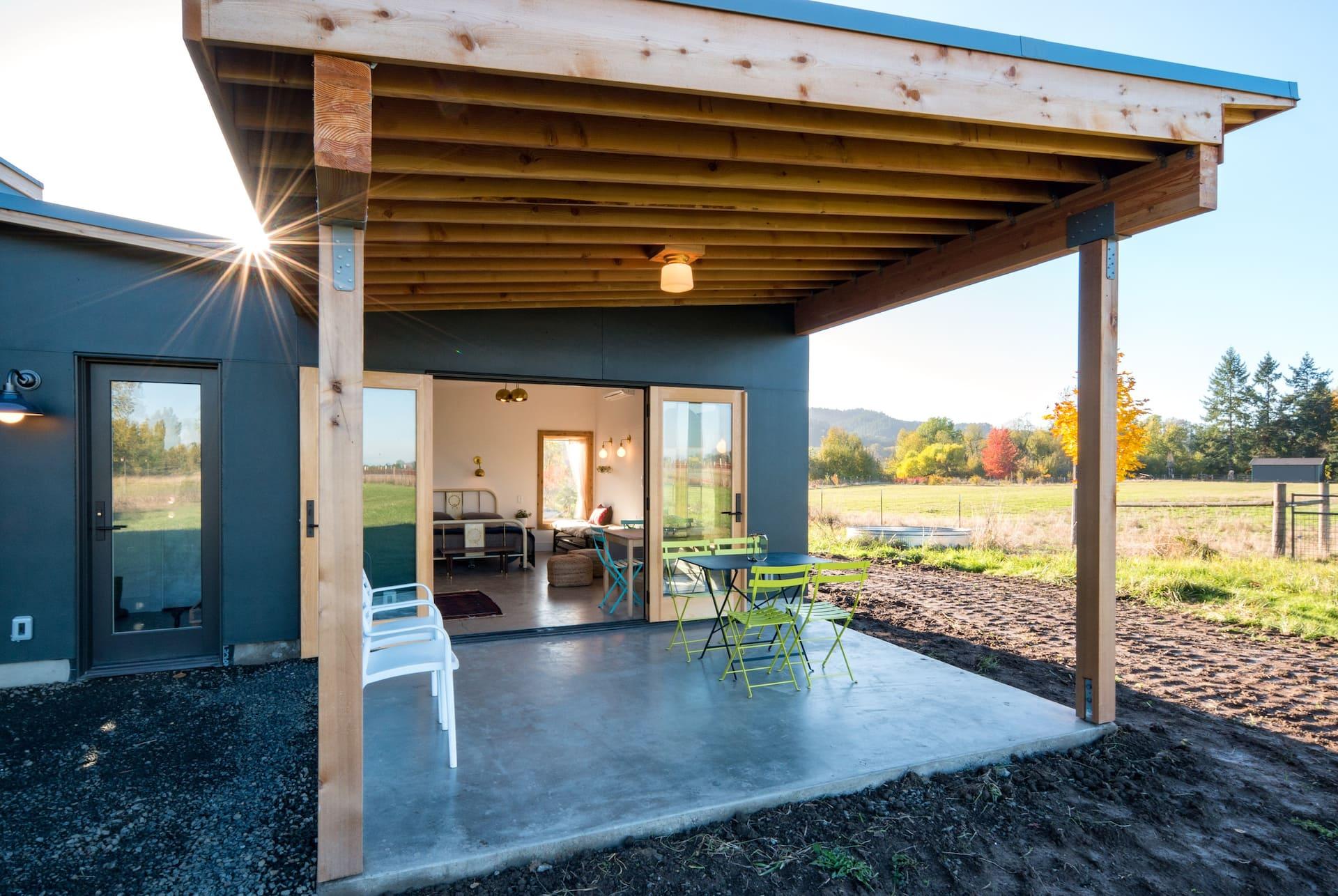 The Island + Alpaca Farm Retreat Airbnb in Oregon near Downtown Portland