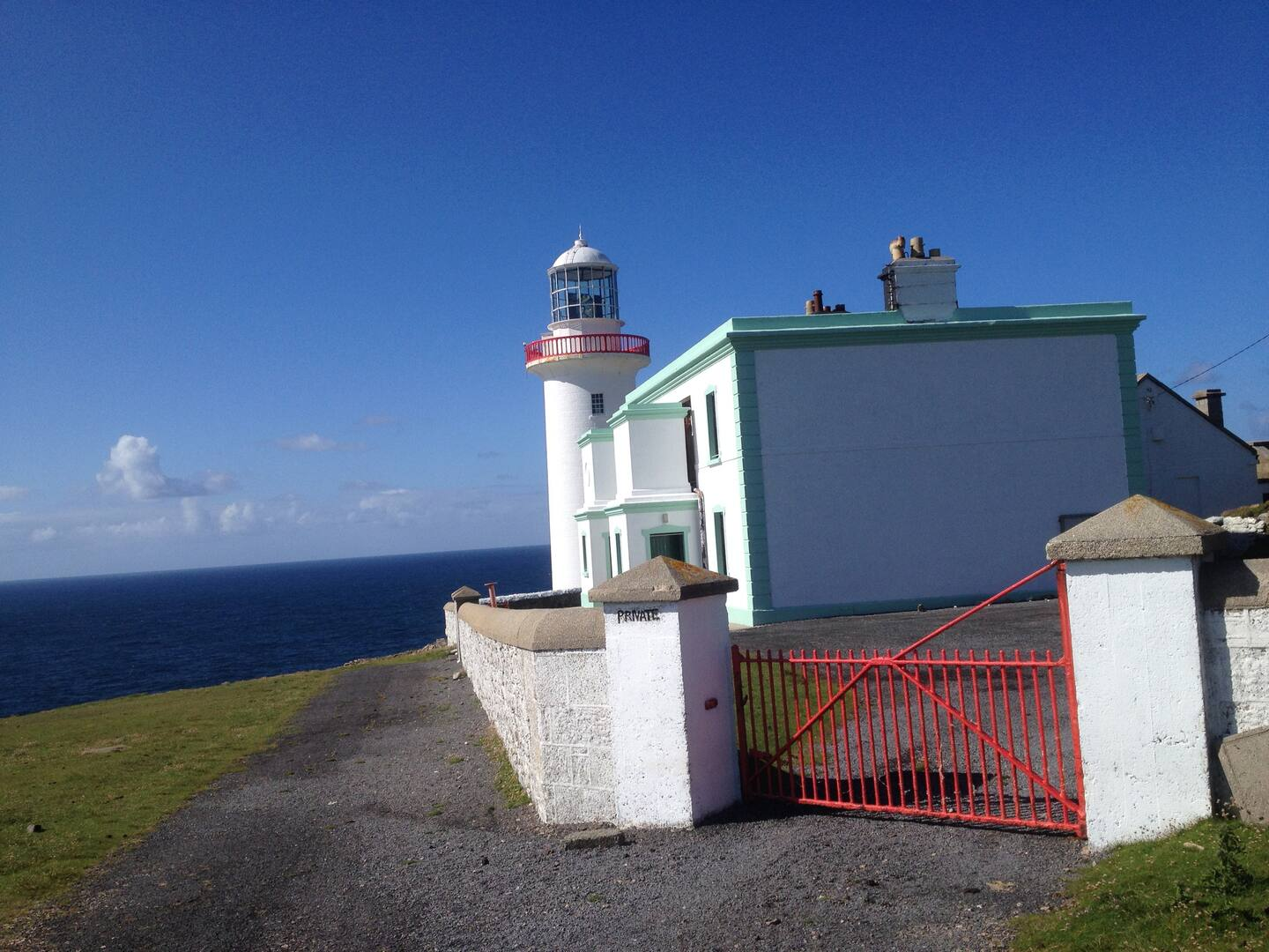 Stay in this Lighthouse Airbnb in Ireland!