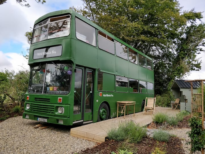 Try something new and different with a Bus Cottage!
