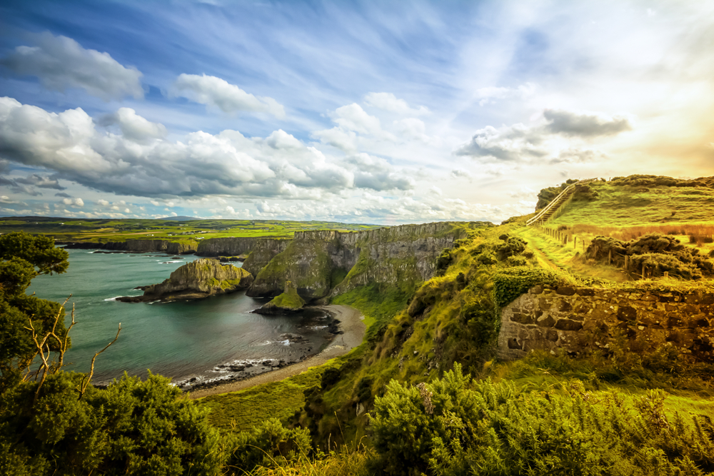 The Emerald Isle has so many opportunities for travel and gorgeous views and Airbnbs too!