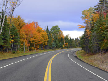 Photo of a road to travel during your New York road trip.