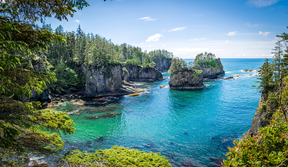 Cape Flattery is the most northwest point in the USA!