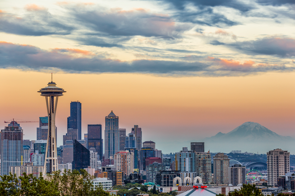 Seattle is a great starting point/city for your Washington road trip!