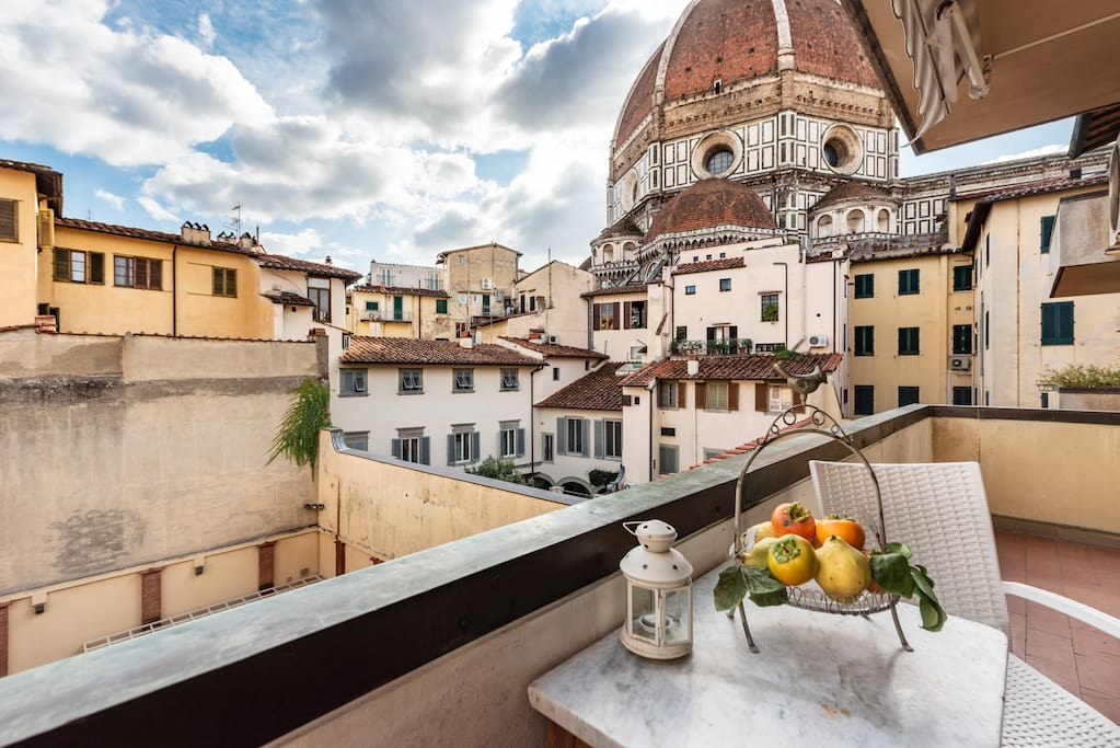 No terrace view in Florence will take you away more than this fantastic find!
