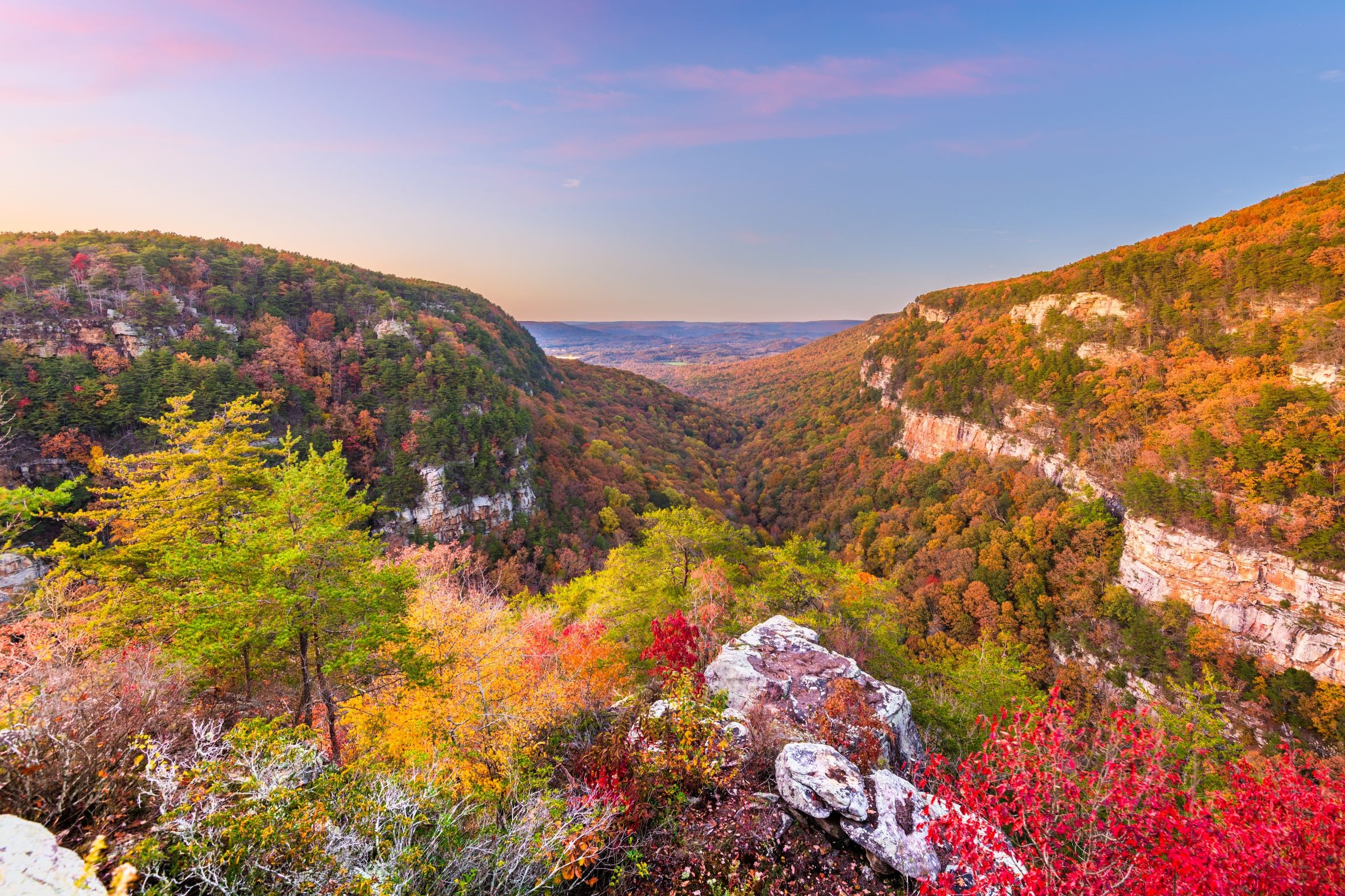 Photo of Cloudland Canyon during Fall in Georgia