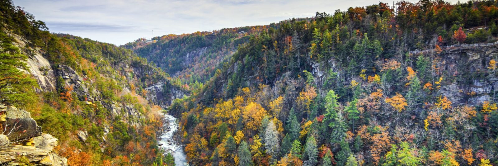 Photo of Tallulah Gorge during Fall.