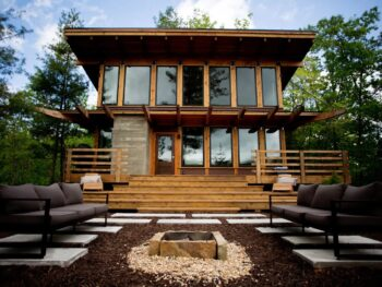 Photo of a super luxe North Carolina Airbnb in Bryson City.