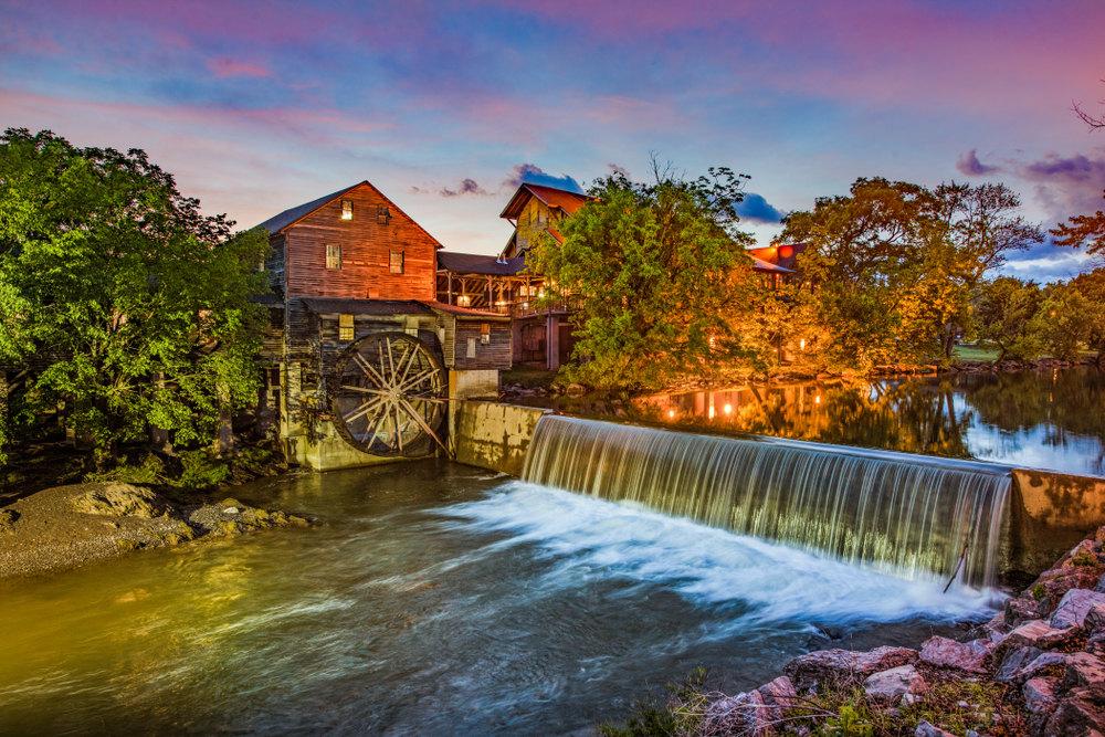 Tennessee Road Trip Old Mill Pigeon Forge