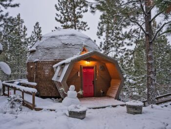 This dome is so sweet and perfect for Oregon travelers.