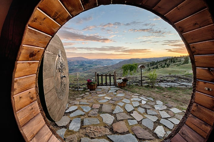 This hobbit hole is a great way to connect back to earth