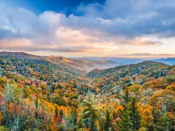 Photo of the Smoky Mountains.