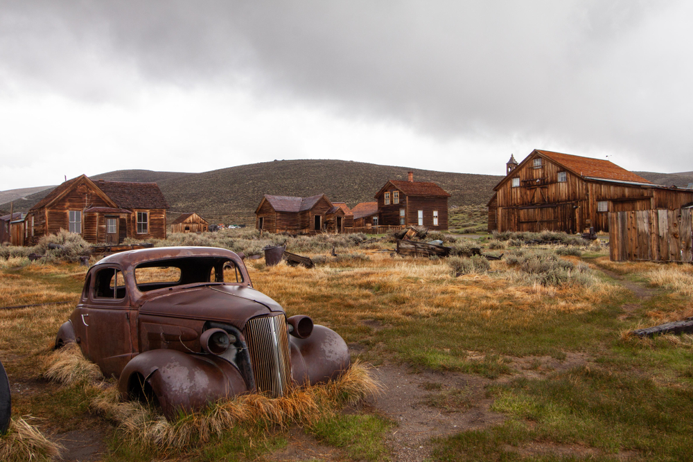 Bodie is a perfect hidden gem in the U.S for lovers of the paranormal