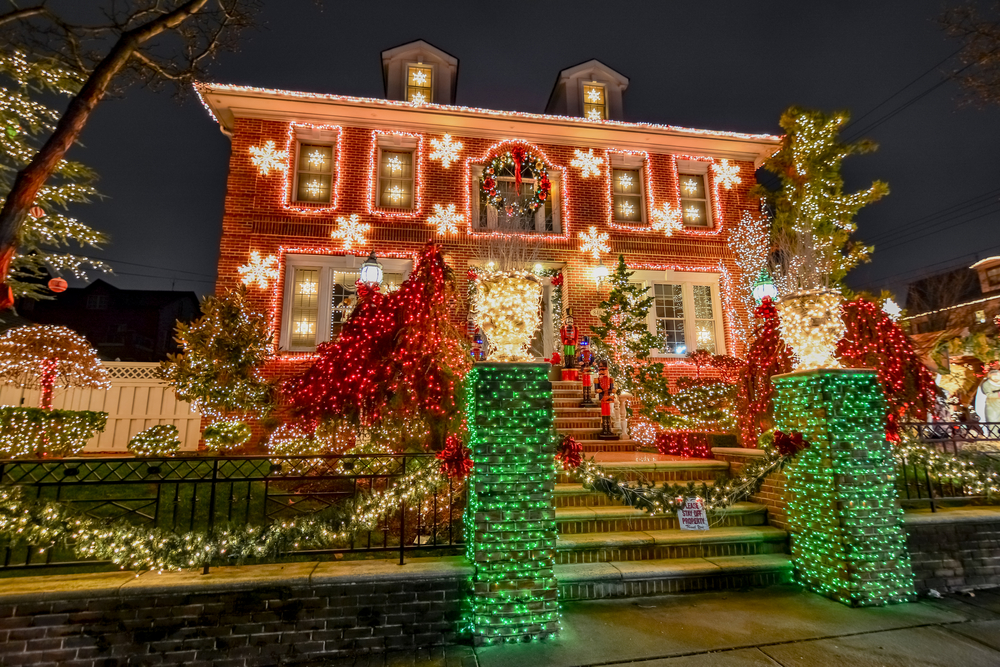Christmas Lights at Dyker Heights