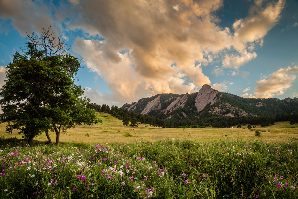Colorado weekend getaways to Chautauqua Park in Boulder