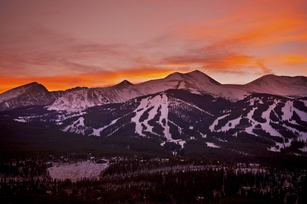 Colorado weekend getaways to the ski slopes in Breckenridge