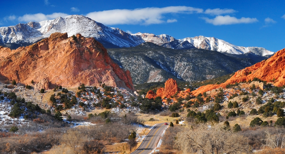 Colorado weekend getaways to Pikes Peak and Garden of the Gods in Colorado Springs