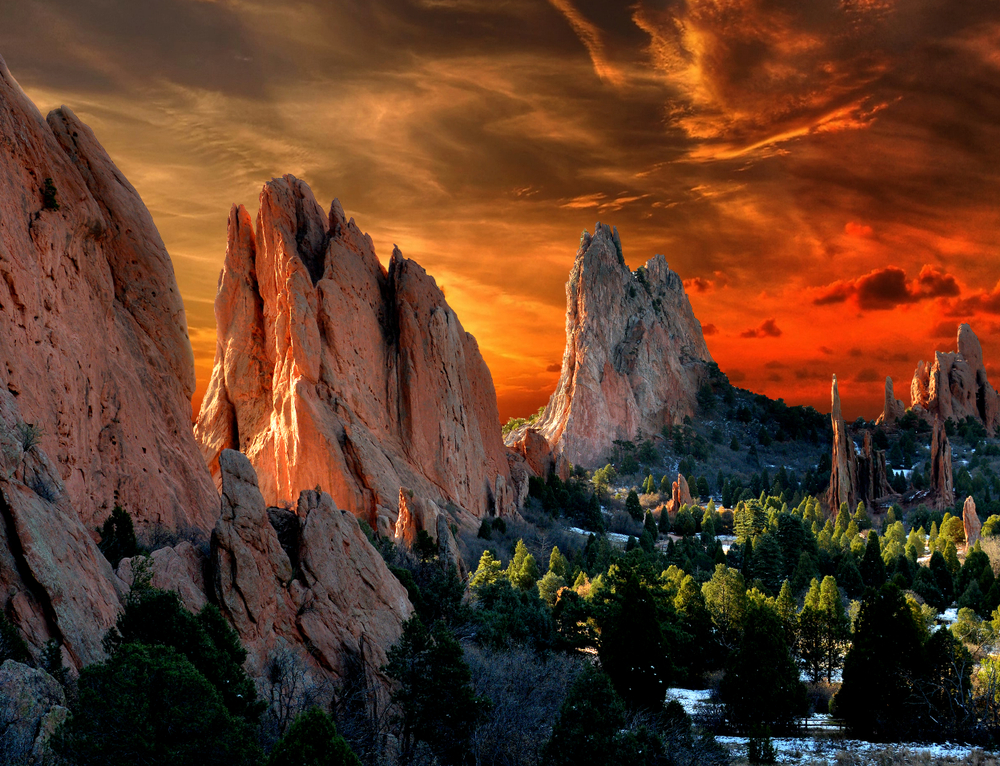 Colorado weekend getaways to Garden of the Gods in Colorado Springs