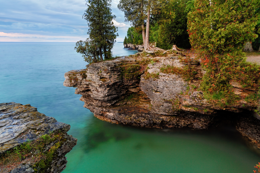 Door County has over 300 miles of shoreline