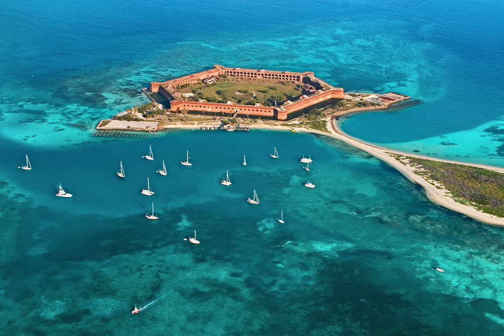 this hidden gem in the US is home to Fort Jefferson