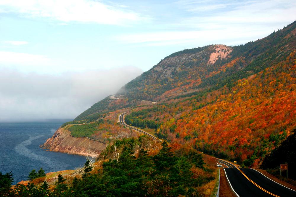 with miles of seas and views of hills, why wouldn't you want to see Cape Breton in fall!?