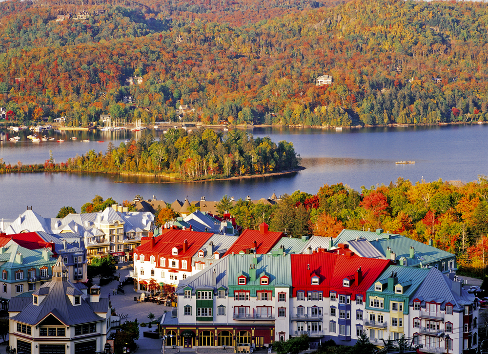 mont tremblant may be know for it's skiing but it's also a great place to experience fall in canada