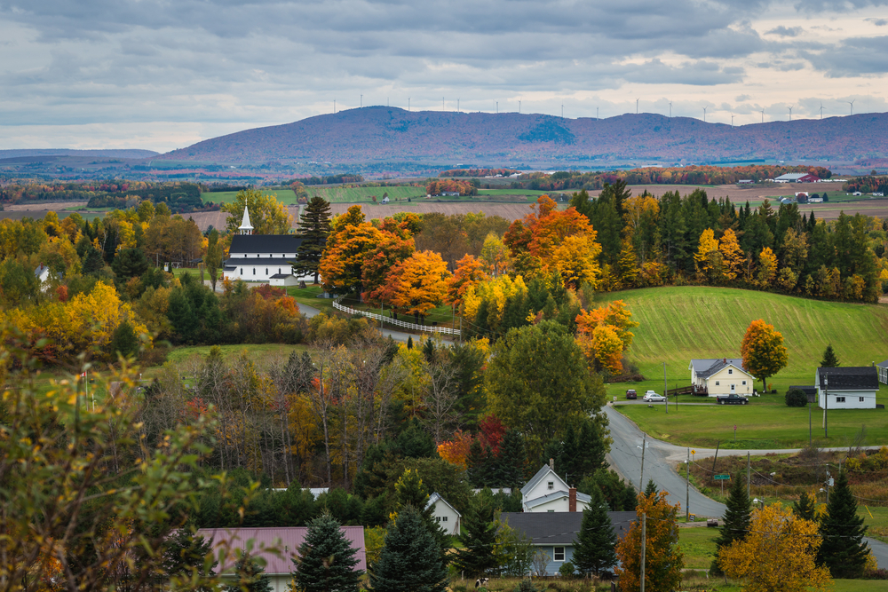 The New Brunswick countryside has so many places to see that it's impossible to list them all!