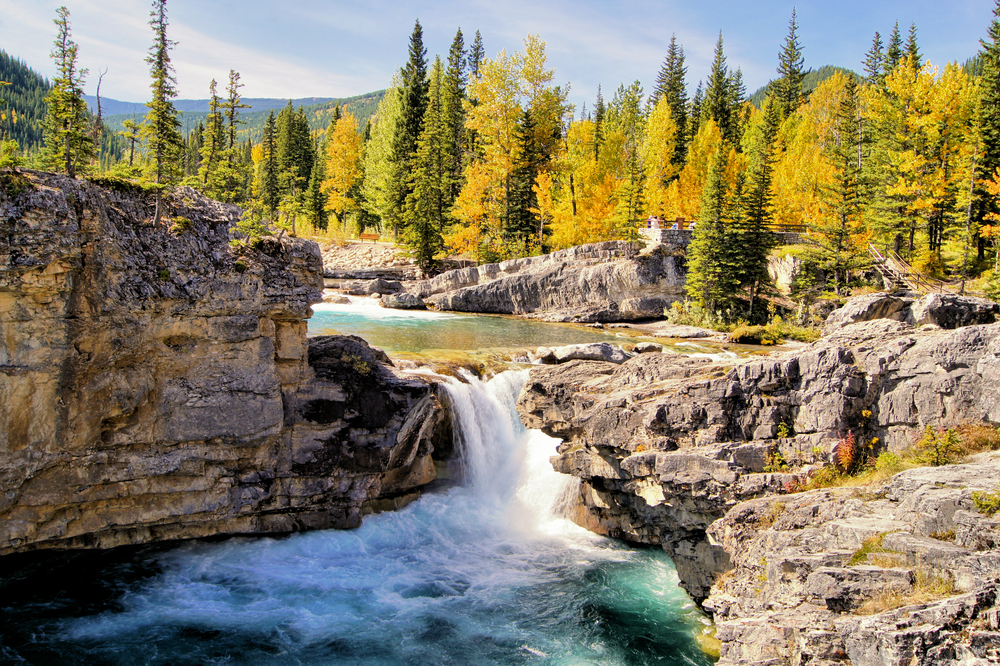 the canadian rocky mountains offer stunning views