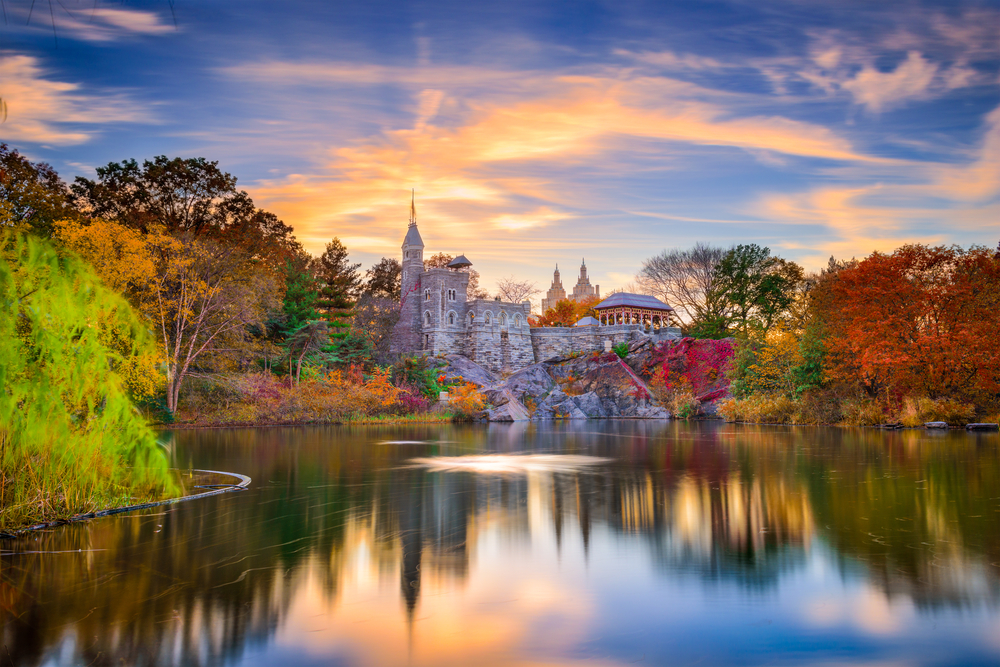 Yes, there is a castle right in the middle of NYC! And it comes to life during fall in New York