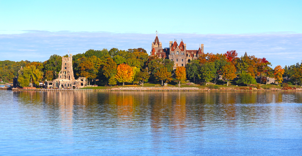 Thousand Islands is home to one of the best castles in america!