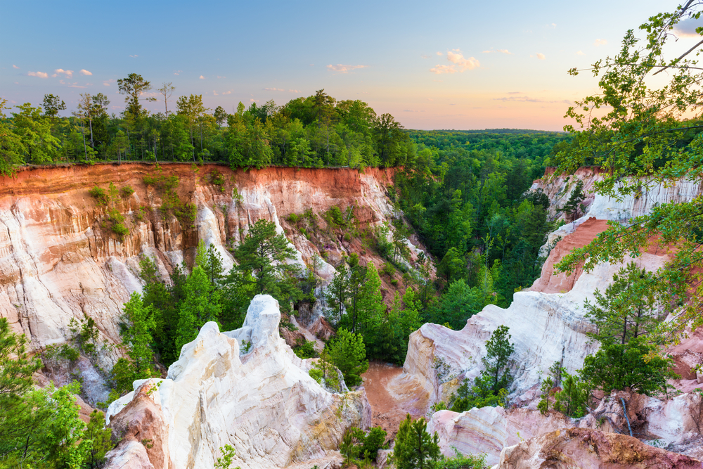 "Providence Canyon is the ""Little Grand Canyon"" of Georgia!"
