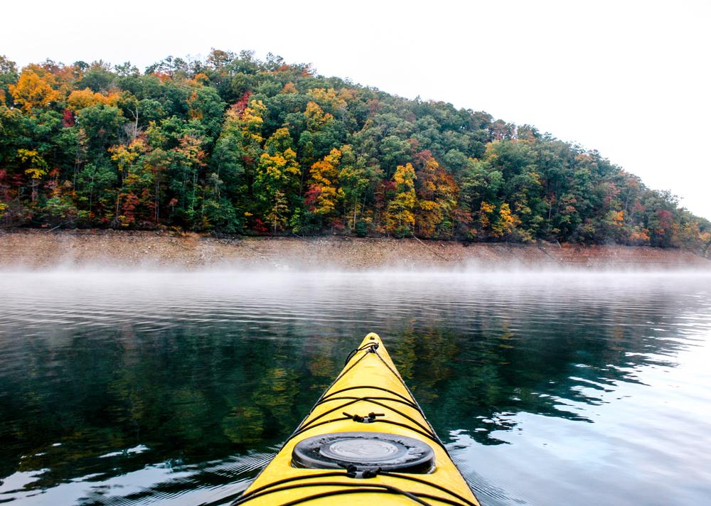 Fontana Lake on your North Carolina road trip