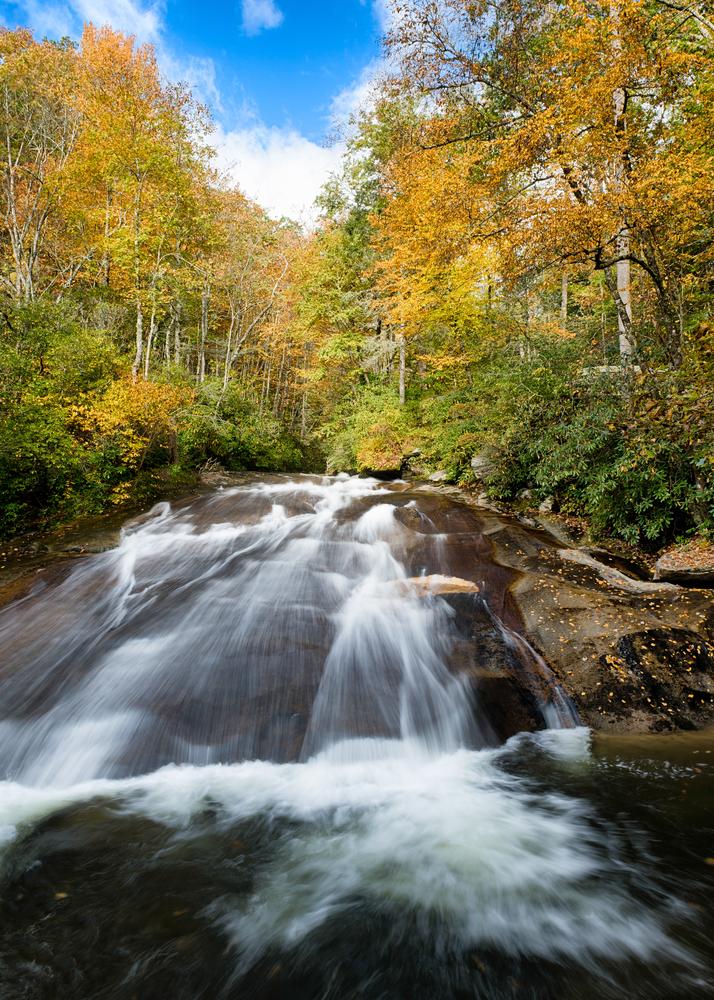 Sliding Rock on your North Carolina road trip