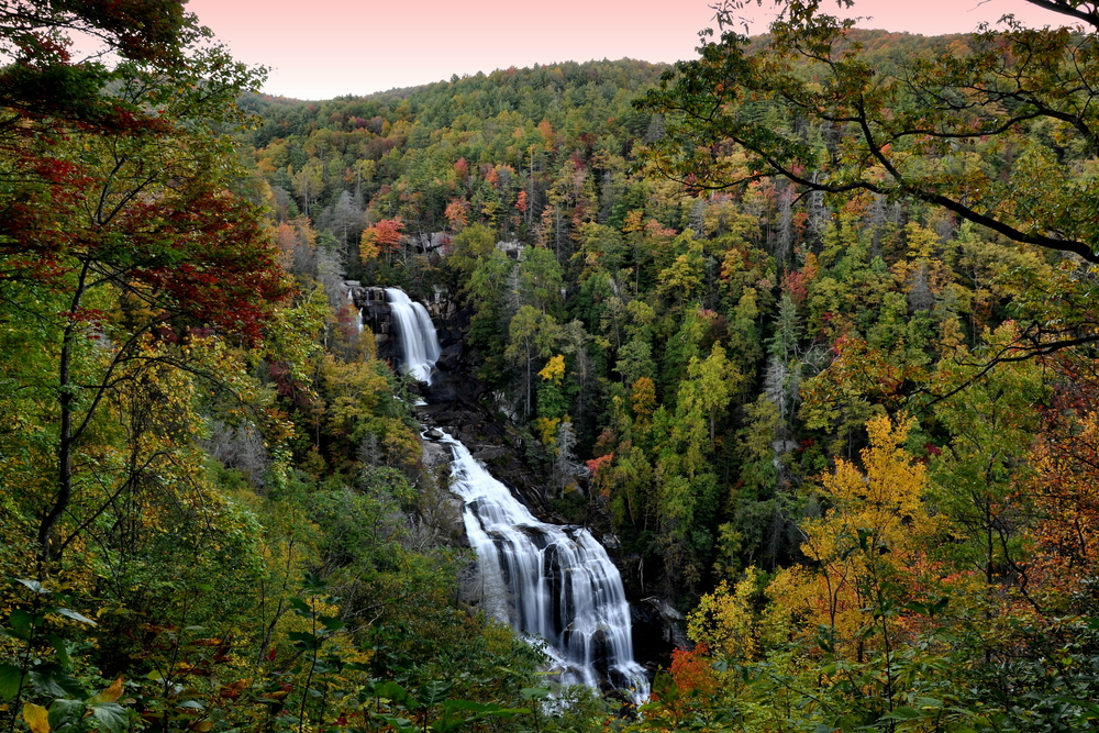 Whitewater Falls on your North Carolina road trip