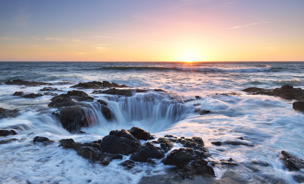 This hidden gem in the US is located on the Central Oregon Coast in Cape Perpetua