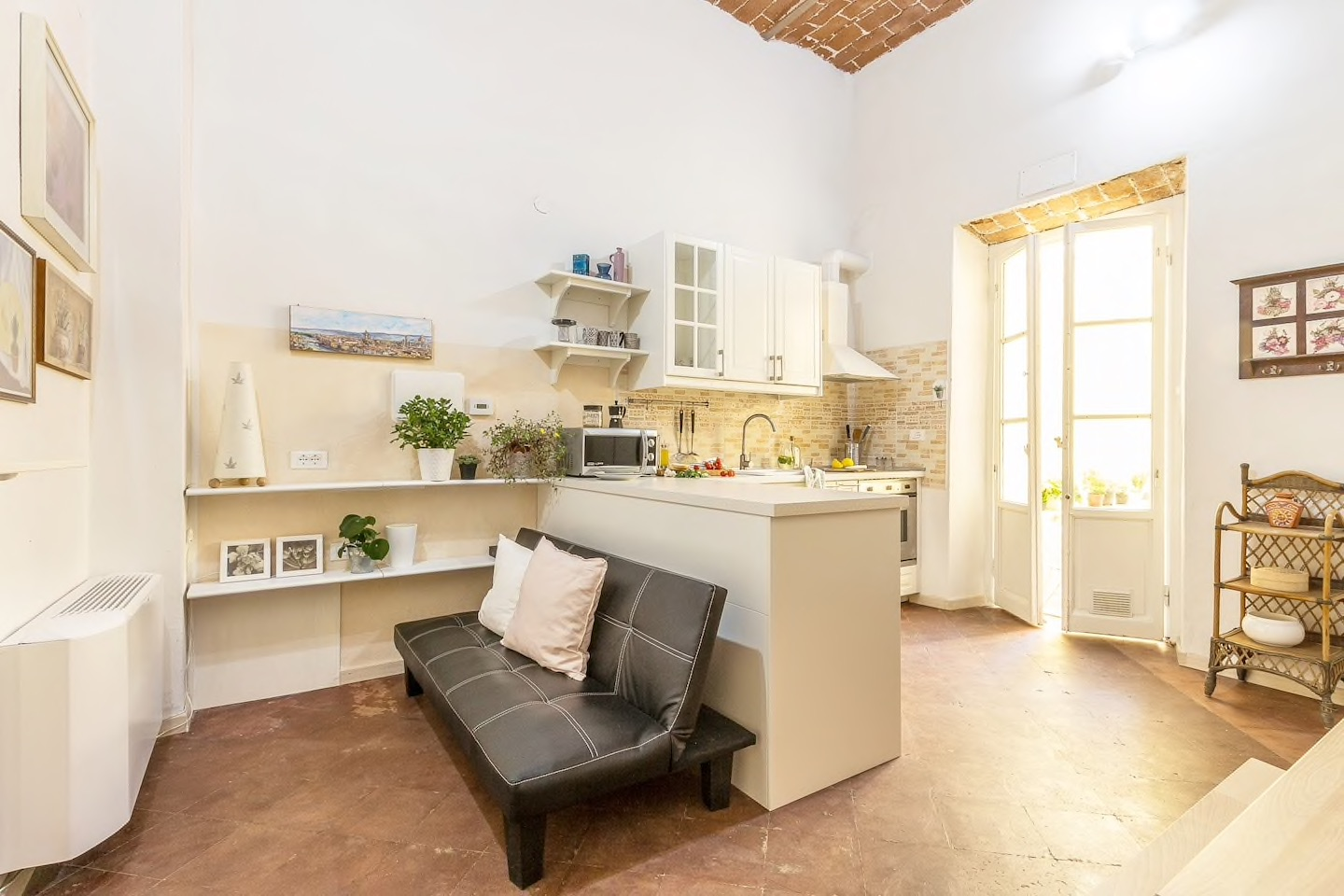This beautiful Florence Airbnb is located in one of the most charming neighborhoods in Florence!