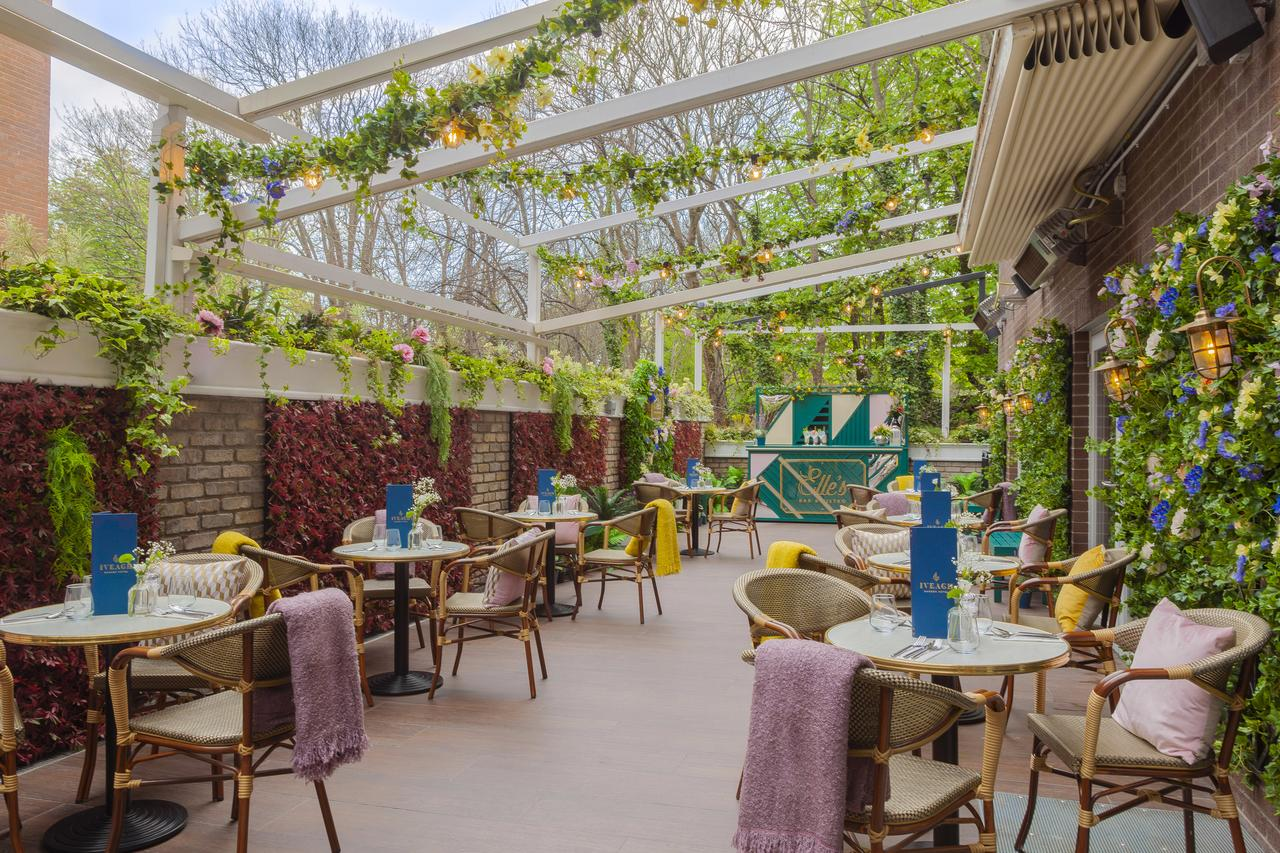 The Iveagh Garden Hotel is a boutique hotel in dublin that has a gorgeous conservatory