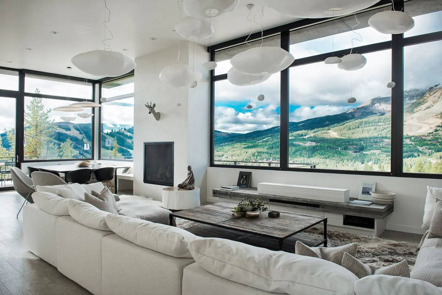 Photo of an Airbnb in Big Sky, Montana.