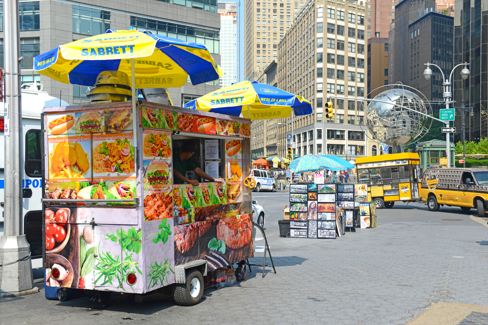 New York on a Budget Street Food