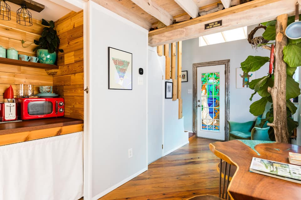 photo of artists loft an airbnb in Dallas