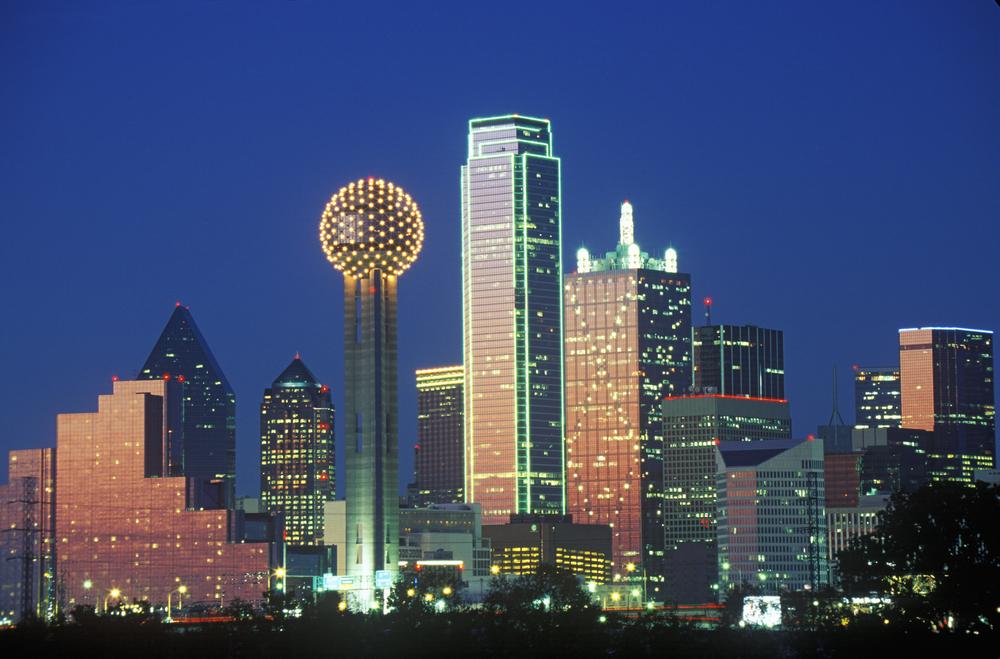 photo of Dallas skyline