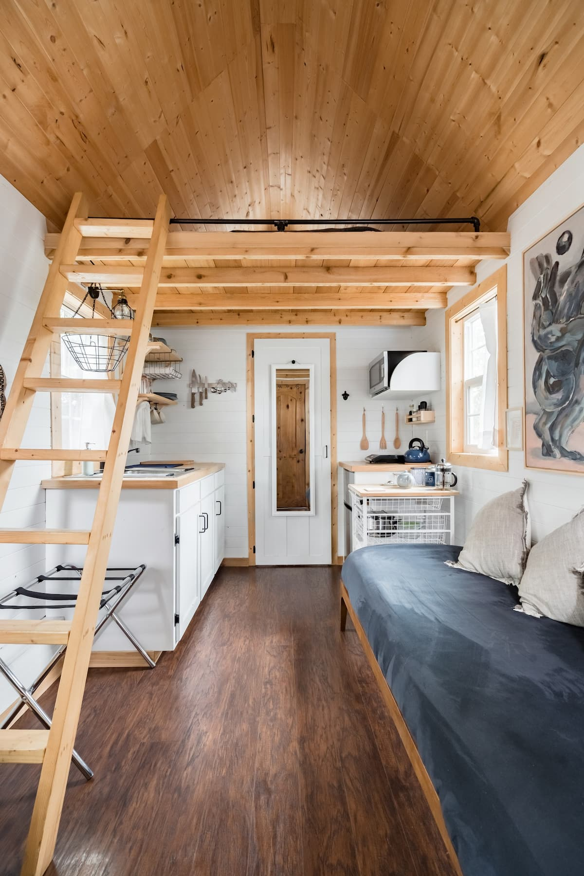 photo of tiny house one of the best airbnb in Dallas